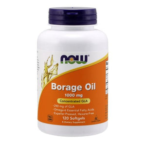 Borage Oil 120 Sgels by Now Foods (2584143331413)