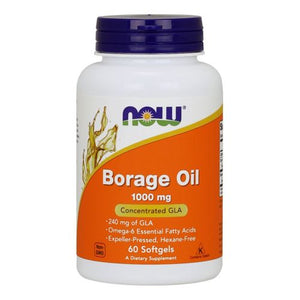 Borage Oil 60 Softgels by Now Foods