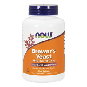 Brewers Yeast 200 Tabs by Now Foods
