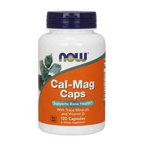 Cal-Mag 120 Caps by Now Foods