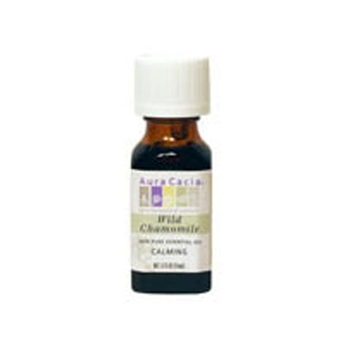 Essential Oil Chamomile (ormenis multicaulls) 0.5 Fl Oz by Aura Cacia