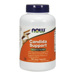 Candida Support 180 Veg Caps by Now Foods