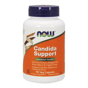 Candida Support 90 Veg Capsules by Now Foods