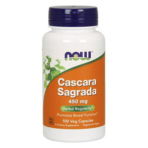 Cascara Sagrada 100 Capsules by Now Foods