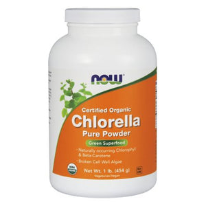 Chlorella Powder 1 Lb by Now Foods