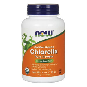 Chlorella Powder 4 OZ by Now Foods