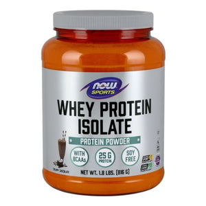 Whey Protein Isolate Dutch Chocolate, 1.8 lbs by Now Foods
