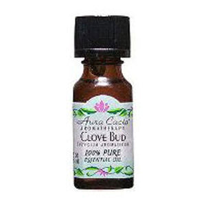 Essential Oil Clove Bud 0.5 Fl Oz by Aura Cacia