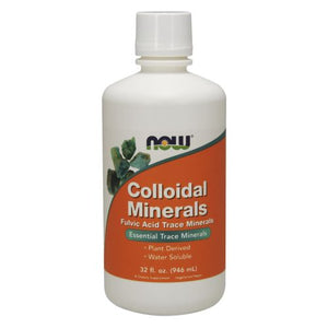 Colloidal Minerals 32 Oz by Now Foods