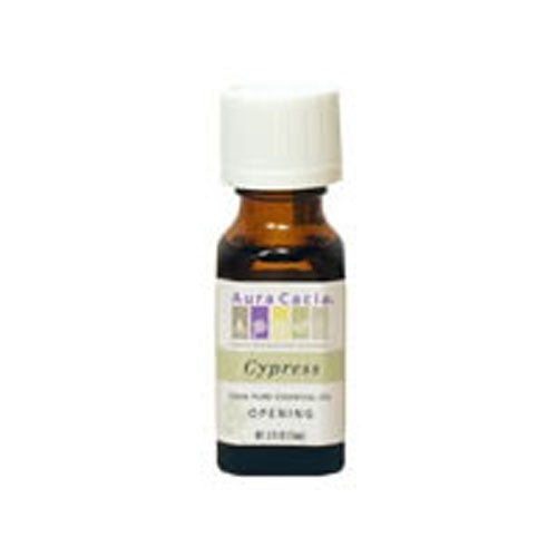 Essential Oil Cypress (cypressus sempervirens) 0.5 Fl Oz by Aura Cacia