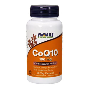CoQ10 with Hawthorn Berry Vegetarian 90 Vcaps by Now Foods