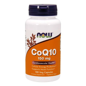 CoQ10 100 Vcaps by Now Foods (2584150442069)