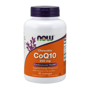 CoQ10 90 Lozenges by Now Foods