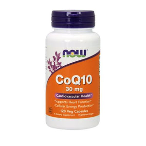 CoQ10 120 Vcaps by Now Foods (2584150540373)
