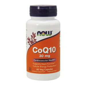CoQ10 60 Vcaps by Now Foods (2584150605909)