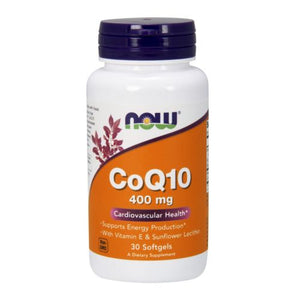 CoQ10 30 Sgels by Now Foods