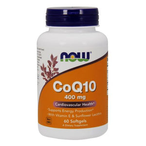 CoQ10 60 Sgels by Now Foods (2584150704213)