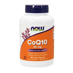 CoQ10 180 Vcaps by Now Foods (2584150769749)