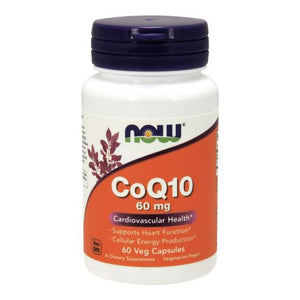 CoQ10 60 Vcaps by Now Foods (2584150802517)