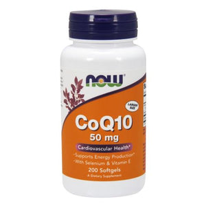 CoQ10 200 Sgels by Now Foods