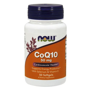 CoQ10 50 Sgels by Now Foods