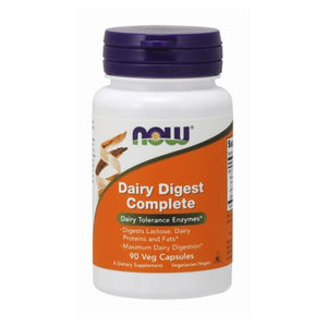 Dairy Digest Complete 90 Vcaps by Now Foods (2584152506453)