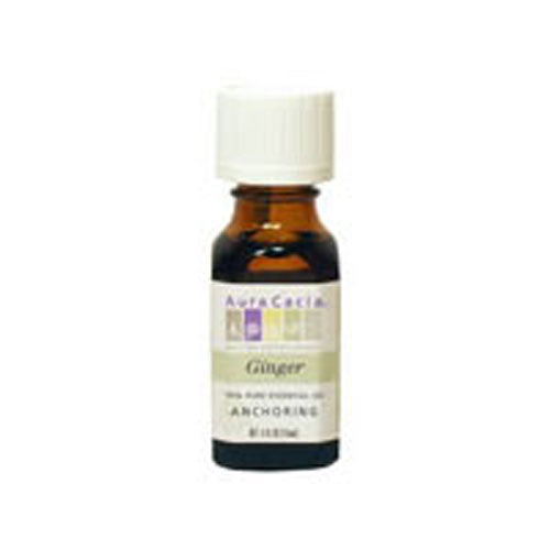 Essential Oil Ginger (zingiber officinale) 0.5 Fl Oz by Aura Cacia