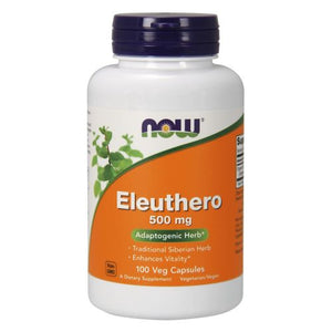 Eleuthero 100 Caps by Now Foods (2584154341461)