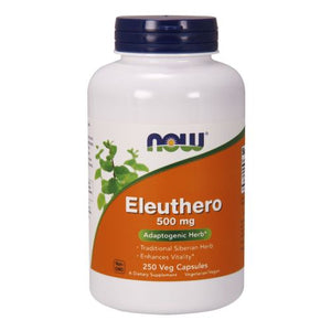 Eleuthero 250 Caps by Now Foods (2584154374229)