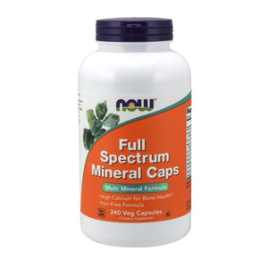 Full Spectrum Minerals 240 Capsules by Now Foods