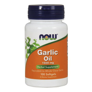 Garlic Oil 100 Sgels by Now Foods (2584155652181)
