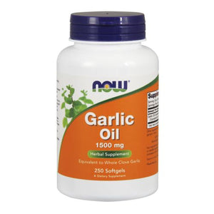 Garlic Oil 250 Sgels by Now Foods (2584155684949)