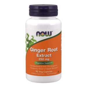 Ginger Root Extract 90 Vcaps by Now Foods (2584156176469)