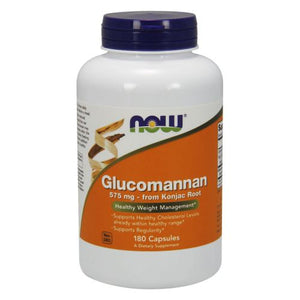 Glucommanan 180 Capsules by Now Foods