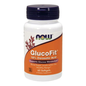 GlucoFit 60 Sgels by Now Foods