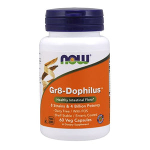 Gr 8 Dophilus 60 Vcaps by Now Foods (2584158044245)