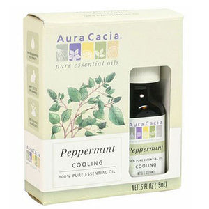 Essential Oil (Peppermint) 0.5 Fl Oz by Aura Cacia (2583972839509)