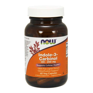 Indole-3-Carbinol (I3C) 60 Vcaps by Now Foods (2584159879253)