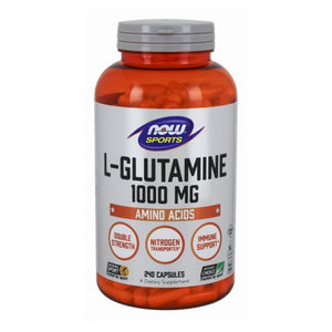L-Glutamine 240 Caps by Now Foods (2584161353813)