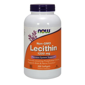 Lecithin 200 Sgels by Now Foods (2584161812565)