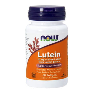 Lutein 60 Sgels by Now Foods (2584162926677)