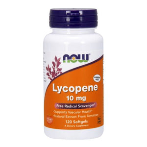 Lycopene 120 Sgels by Now Foods (2584163024981)