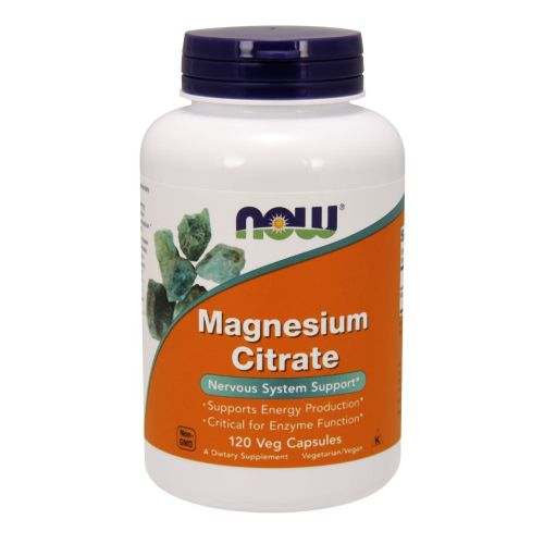 Magnesium Citrate 120 Vcaps by Now Foods