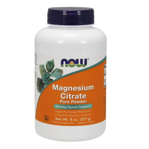 Magnesium Citrate 8 OZ by Now Foods (2584163975253)