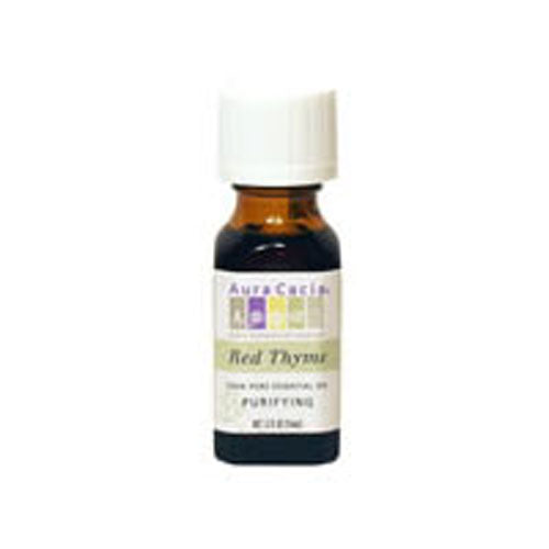 Essential Oil Thyme, Red (thymus vulgaris) 0.5 Fl Oz by Aura Cacia