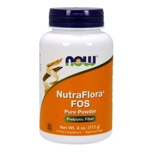 Nutra Flora FOS Vegetarian 4 OZ by Now Foods (2584166727765)