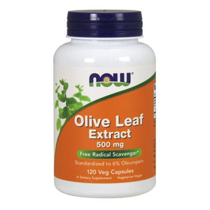 Olive Leaf Extract 120 Vcaps by Now Foods (2584167219285)