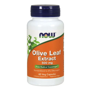 Olive Leaf Extract 60 Vcaps by Now Foods (2584167284821)