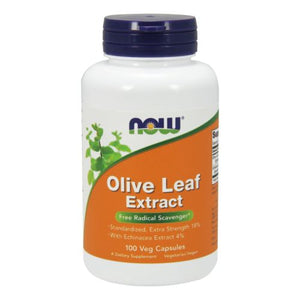 Olive Leaf Extract 100 Vcaps by Now Foods (2584167514197)