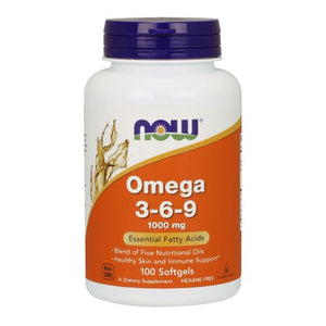 Omega 3-6-9 100 Softgels by Now Foods